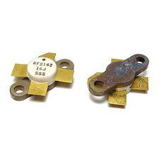 2x HF Leistungs-Transistor RF2142 / RF 2142, High Frequency Power Transistor NOS
