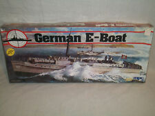 MPC 1/72 Scale German E-Boat - Factory Sealed