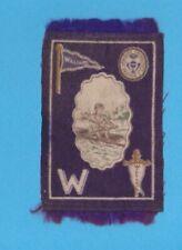 1910 Murad tobacco felt B33 WILLIAMS COLLEGE   Rower / Crewe TOUGH