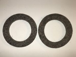 1923-29 Hudson 6 Rear Wheel Inner Axle Felt Oil Seal Grease Retainer 13959 (Qty2