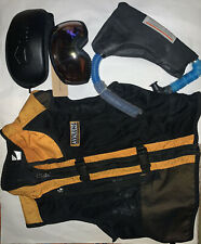 Black Diamond Mens AvaLung Full Zip Vest Small & New Goggles