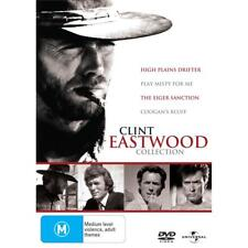 Clint Eastwood DVD Collection Coogan's Bluff/High Plains Drifter/Play Misty 4 me