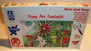 New Sealed 1995 FX SCHMID FROGS are FANTASTIC 90 Large Pc Jigsaw Puzzle #91305
