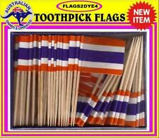 Thailand flag Thai flag toothpicks for cooking cupcakes cocktails & party.