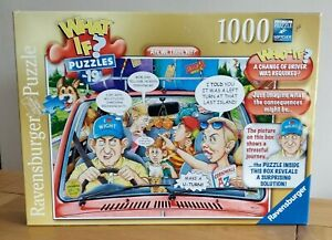 Ravensburger What If? No.15 Are we there yet? 1000 Pce Jigsaw Puzzle.IMMACULATE