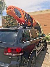 Luxury Kayak Rack Foldable Roof J-BarVersatile Ski Snow Surf Board 2018 Model