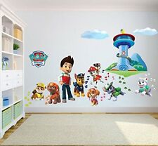 Paw Patrol Wall Sticker for Boys Girls Wall Art Decal