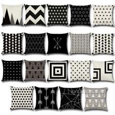 Geometrische Dekokissen im Art Deco-Stil aus Polyester
