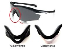 Galaxy Nose Pads Rubber Kits For Oakley M2 Frame Sunglasses Black/White