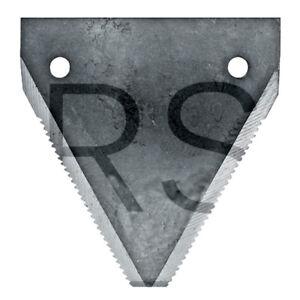 Messerklinge gezahnt für Rasspe Mähbalken DIN 80 Granit 1 Stück 525DIN80RUG SG