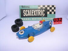 SCALEXTRIC TRIANG MM/C58 COOPER T 53 F1  #4  BLUE EXCELLENT CONDITION