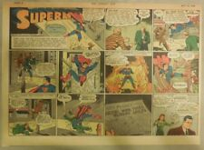 Superman Sunday Page #134 by Siegel & Shuster from 5/24/1942 Half Page:Year #3!