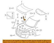 Scion TOYOTA OEM 08-15 xB Hood-Hinge Right 5341012580