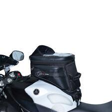 Oxford S20r Black Motorcycle Motorbike Lightweight Adventure Strap on Tank Bag