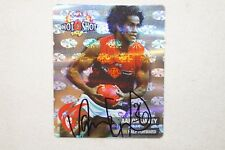 Melbourne Demons -Hard to Find -Silver Hot Shot Tazo - Aaron Davey -Signed