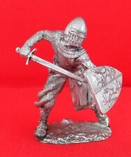 Tin metal collection toy figurie soldier54 mm Florence Knight 12th century