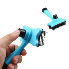 Pet Grooming Brush DeShedding Comb Edge Trimming Dog Cat Rake Removal Hot F T4R5