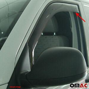 Window Visor Vent Sun Shade Rain Guard Fits Mercedes Dodge Sprinter 2001-2006