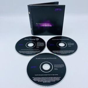 Avid Pro Tools 9 Software, Version 9, Read Description, VG Discs, Fast Free Ship