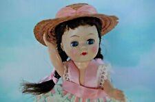 Vintage 1950's Hard Plastic 8� Ginny type Walker, Straight Leg Doll Pam ?