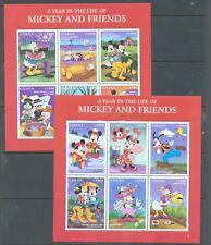 Ghana 1998 Disney sg.2616-27 set of 12 in 2 sheets MNH