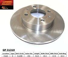 Disc Brake Rotor-EX Front Best Brake GP31610