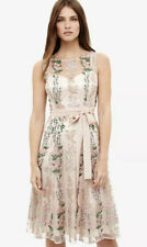 CL7#  Phase Eight Fodula Embroidered Dress Womens Size Uk 18