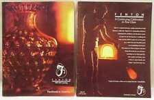 TWO FENTON ART GLASS CATALOGS 1986 1987 1988