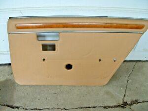 Jaguar right Rear door panel. From a 1986 XJ6 series 3 car