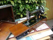 Antique Old Vintage Hand Crank  Singer sewing machine Model  99K See Video