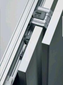 SLIDING WARDROBE DOOR GEAR TRACK SYSTEM DIY Mixit Range by Hettich