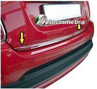 Modanatura Cornice acciaio cromo cromata Portabagagli Portellone Baule Fiat 500X