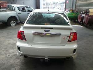 SUBARU IMPREZA BOOTLID, G3, RX/RS, SPOILERED TYPE, 09/08-11/11