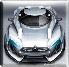 Sport Show Car Gt Modern European Concept Double Light Switch Wall Plate Cover