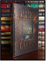 Greek Myths & Tales New Deluxe Hardcover Mythology Olympians Homer's Odyssey +++