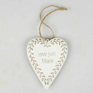 Sass & Belle Hanging Plaque/ sign - Love You Mum novelty mother gift