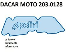 203.0128 FILTRO ARIA POLINI PIAGGIO  ZIP 50 SP H2O - ZIP 50 SP H2O mod.2000
