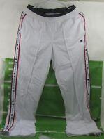 NEW CHAMPION WHITE TRACK PANTS SIZE   SMALL ***