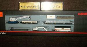Z Scale Marklin 82517 Railroad Maintenance Set With Worker sets