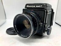 ✈FedEx【EXC+4】Mamiya RB67 Pro + SEKOR 127mm f3.8 + 120 FilmBack from Japan