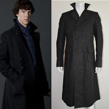 Sherlock Holmes Wool Cape Coat Costume Cosplay - All Sizes are Available