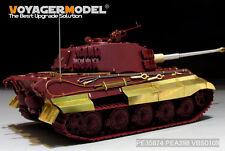 Voyager PEA398 1/35 WWII German King Tiger Schurzen(For MENG)