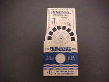Sawyer's Viewmaster Reel,Travelogue,1950,Passion Play Oberammergau,Germany,1550