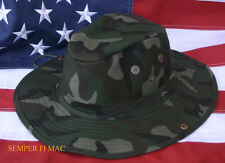 XL BOONIE US MARINES ARMY AIR FORCE CAMO HAT GREEN CAMOUFLAUGE HUNTING BUSH WOW