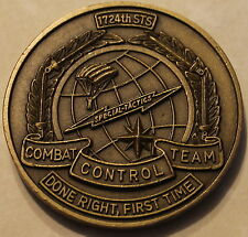 1724th Sq Tier 1 Combat Control Team Pararescue Air Force Challenge Coin PJ 24th