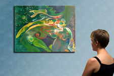 """31"""" - THE GARDEN___ORIGINAL painting by CHIBRIT"""