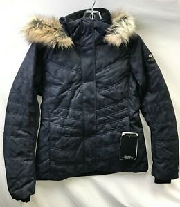 Obermeyer Women's Tuscany II Jacket 11164 Black Ice Size 12