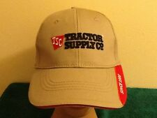 NEW TSC Tractor Supply Company Since 1938 Tan Embroidered Baseball Hat Cap