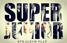 SUPER JUNIOR [PLAY] 8th Album RANDOM CD+96p Photobook+Letter+Card K-POP SEALED