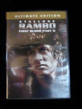 RAMBO FIRST BLOOD PART II DVD Sylvester STALLONE, Richard CRENNA, Charles NAPIER